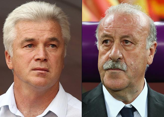 Сергей Силкин и Висенте Дель Боске
