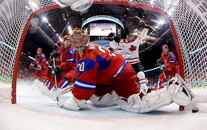 ОИ-2010. Четвертьфинал. Россия – Канада – 3:7