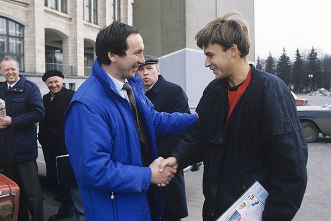 Шамиль Тарпищев и Андрей Чесноков