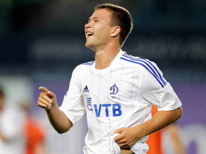 Александр Сапета в составе «Динамо»