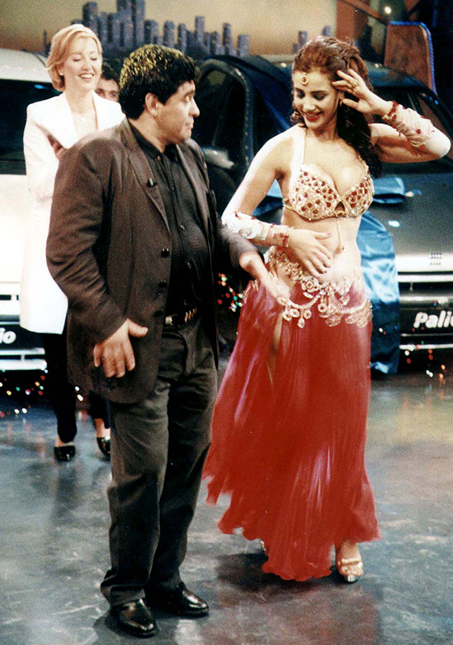 Марадона без труда проявил себя в качестве танцора