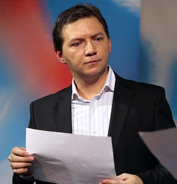 Георгий Черданцев: подготовка к записи телепрограммы