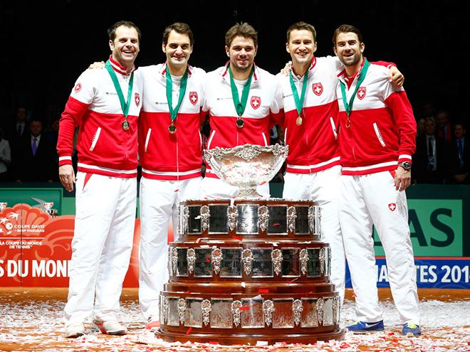 Федерер принёс своей сборной Кубок Дэвиса