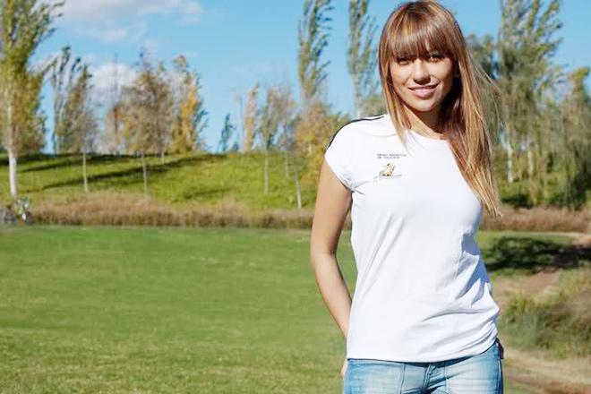 Мелисса Моралес, подруга Жорди Альбы
