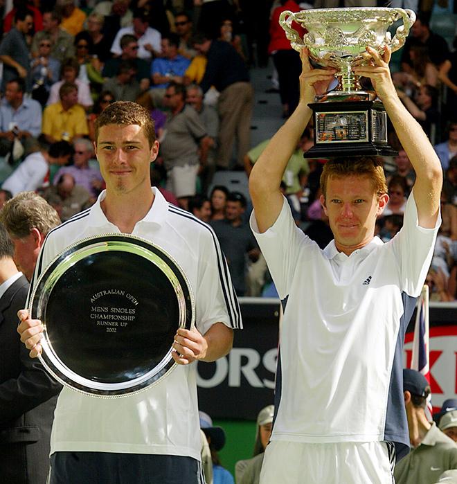 В финале Australian Open — 2002 Томас Юханссон победил Марата Сафина