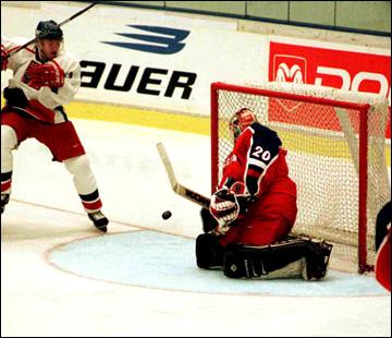 Илья Брызгалов: первое появление в сборной России, 1999 год
