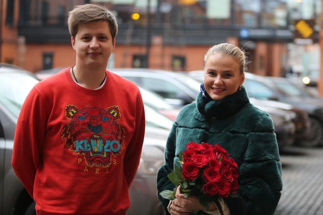 Никита Кузин и Александра Пацкевич