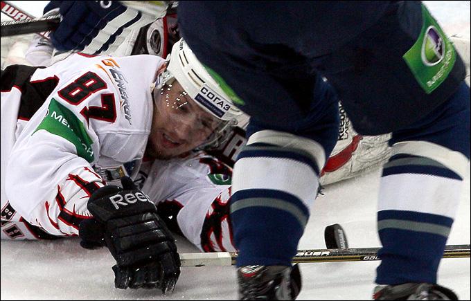 17 апреля 2012 года.  Лужники.  Плей-офф чемпионата КХЛ.  Финал.