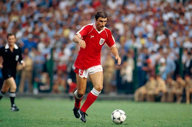 Ханс Кранкль – самый известный представитель австрийского футбола 70-х годов