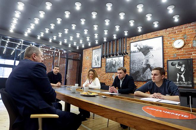 Сергей Гимаев в редакции «Чемпионата»