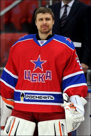 Илья Брызгалов в ЦСКА