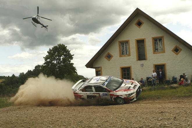 Алексей Лукьянюк и Алексей Арнаутов на Ралли Эстонии ERC