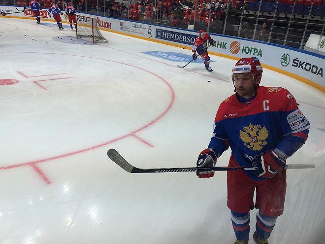 Илья Ковальчук в новой форме сборной России