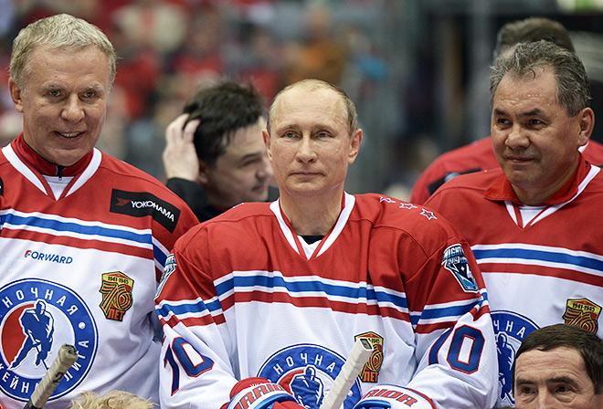 Вячеслав Фетисов, Владимир Путин, Сергей Шойгу