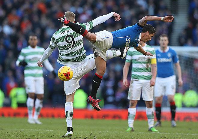 «Глазго Рейнджерс» и «Селтик» сыграли в рамках полуфинала Кубка шотландской лиги