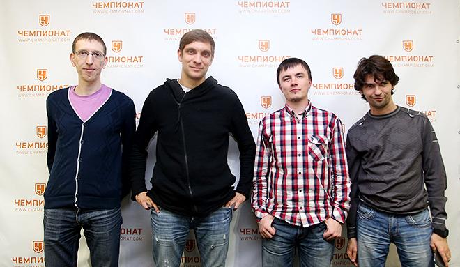 Виталий Петров в редакции «Чемпионата»