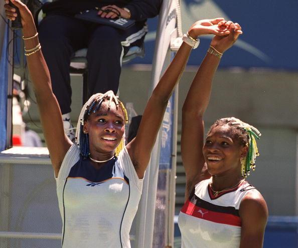 Серена и Винус в 1997-м