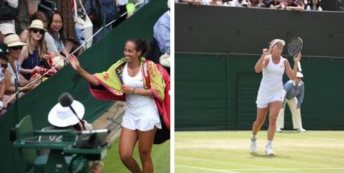 Радость Вандевеге и Кис после побед