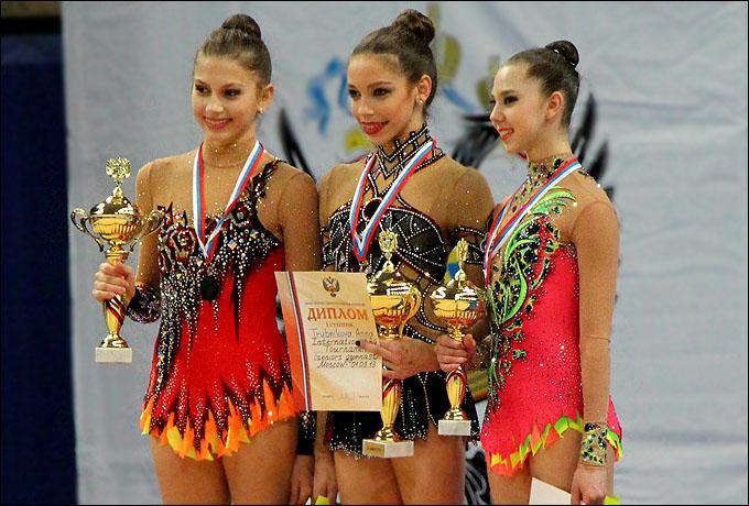 Награждение победителя и призёров международного турнира