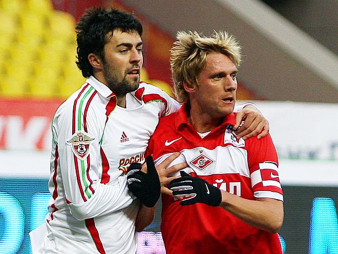 Радослав Ковач в матче против «Локомотива»