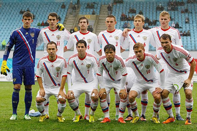 Владимир Обухов в составе национальной юношеской команды