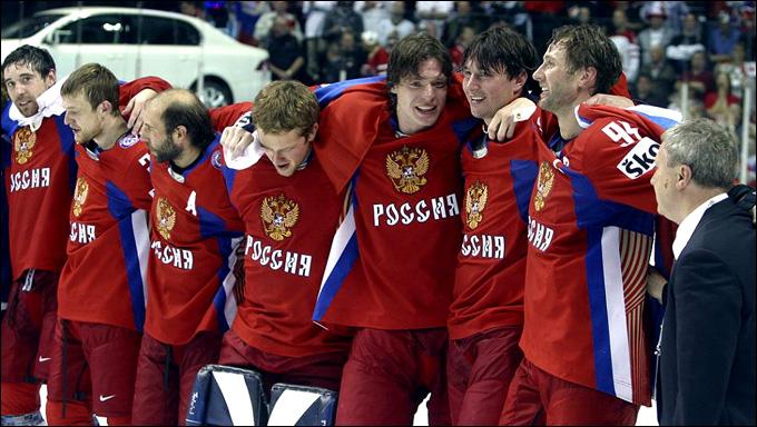 Сборная России по хоккею, Сборная Канады по хоккею