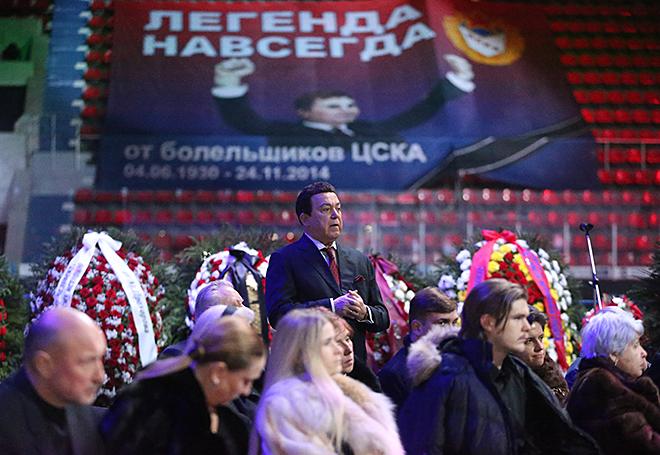 В Москве простились с Виктором Тихоновым