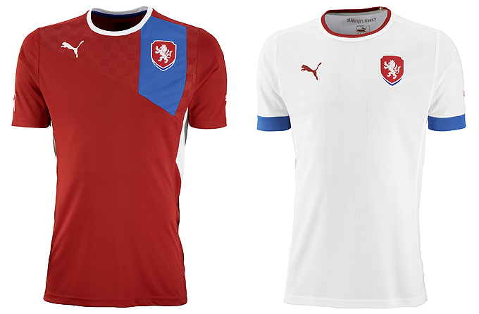 Форма сборной Чехии Puma