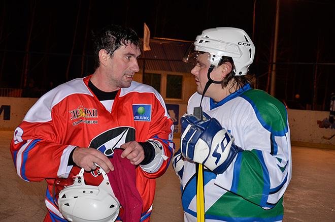 Александр Гуськов и Денис Афиногенов