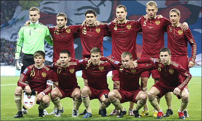 Сборная России по футболу 2010