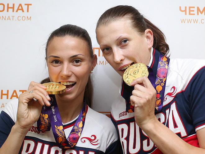 Анна Лешковцева и Татьяна Видмер
