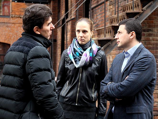Лев Савари, Татьяна Щёголева и Игорь Кочарян