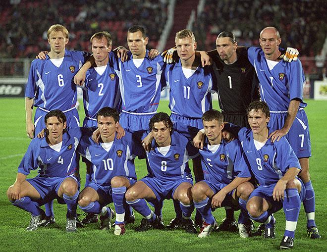 Сборная России на ЧМ-2002