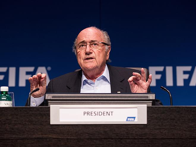 Йозеф Блаттер заявил, что ФИФА безоговорочно поддерживает проведение чемпионата мира — 2018 в России