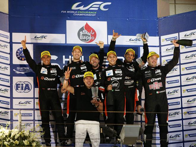 G-Drive Racing выиграла «6 часов Бахрейна» и титулы FIA WEC-2015 в классе LMP2
