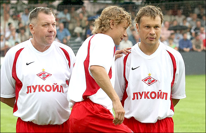 Валерий Карпин и Дмитрий Попов