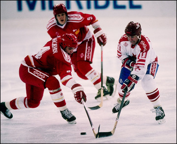 Альбервиль. XVI Зимние Олимпийские игры. Финал. Объединенная команда — Канада