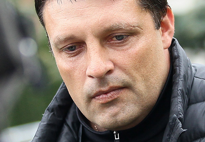 Игорь Черевченко со шрамом
