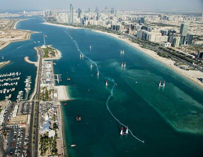 Общий вид на трассу в Абу-Даби