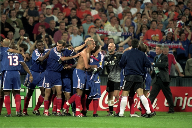 Давид Трезеге — на Евро — 2000