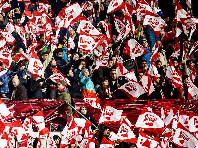 ЧЕ-2016 — квалификация. Группа G. 4-й тур. Австрия – Россия – 1:0