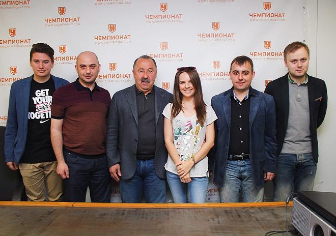 Валерий Газзаев в редакции «Чемпионата»