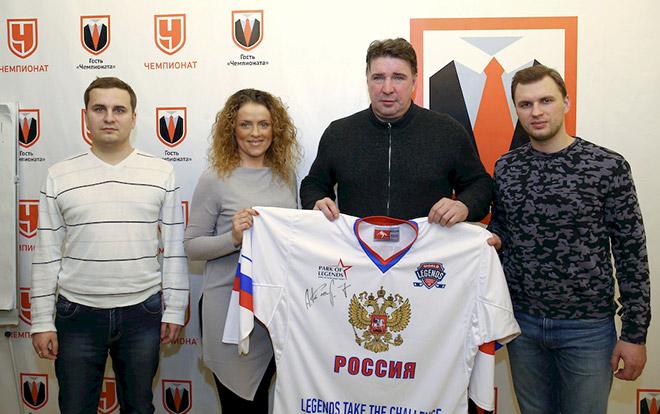 Алексей Касатонов в редакции «Чемпионата»