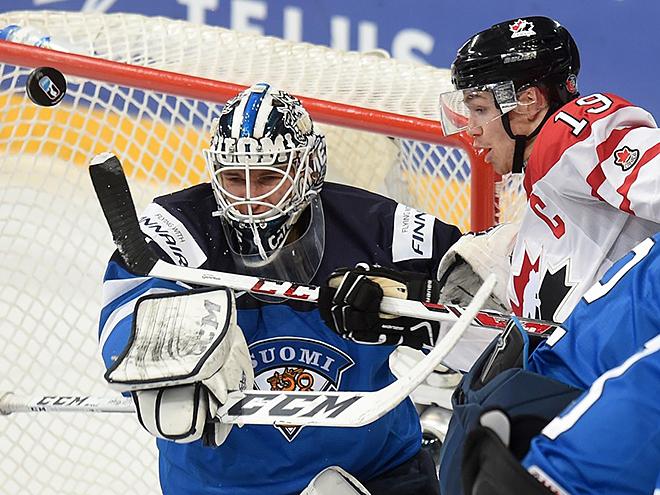 Канадцы проиграли финнам в сумасшедшем четвертьфинале