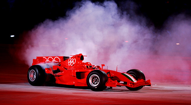 5 необычных мест, в которых ездил болид Формулы-1