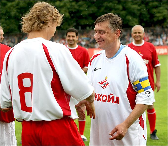 Валерий Карпин и Федор Черенков
