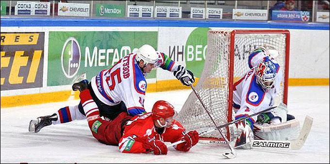 Превью: СПАРТАК vs СИБИРЬ чемпионат КХЛ 2011-2012 (Видео)