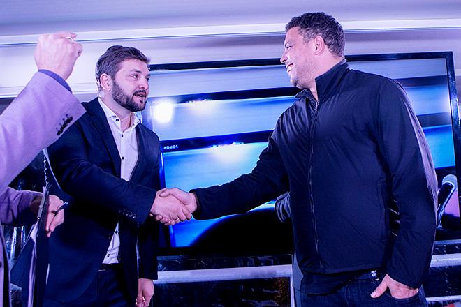 Дмитрий Сергеев и Роналдо