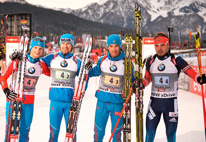 Российская команда выиграла эстафету