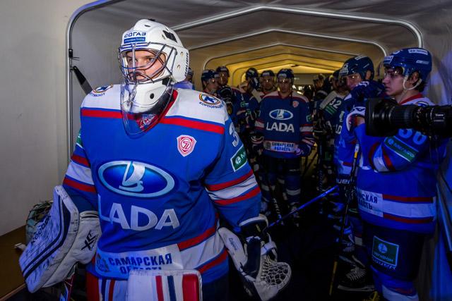 Болельщики в Тольятти гордятся своей «Ладой»